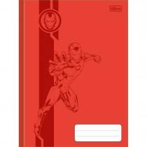 Imagem - Caderno Brochura Capa Dura 1/4 Avengers Colors 80 Folhas (Pacote com 5 unidades) - Sortido