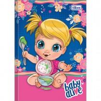 Imagem - Caderno Brochura Capa Dura 1/4 Baby Alive 80 Folhas - Sortido