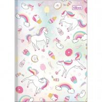 Imagem - Caderno Brochura Capa Dura 1/4 Blink 80 Folhas - Sortido (Pacote com 5 unidades)