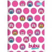 Imagem - Caderno Brochura Capa Dura 1/4 Bubu e as Corujinhas 80 Folhas - Sortido (Pacote com 5 unidades)