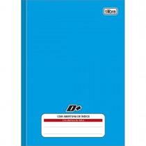 Imagem - Caderno Brochura Capa Dura 1/4 com Índice D+ Azul 96 Folhas