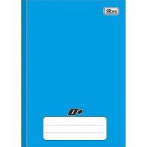 Imagem - Caderno Brochura Capa Dura 1/4 D+ Azul 96 Folhas