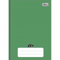 Imagem - Caderno Brochura Capa Dura 1/4 D+ Verde 96 Folhas