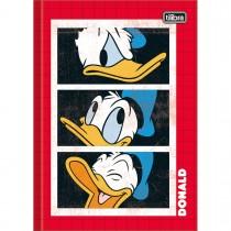 Imagem - Caderno Brochura Capa Dura 1/4 Donald 80 Folhas - Sortido (Pacote com 5 unidades)