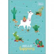 Imagem - Caderno Brochura Capa Dura 1/4 Hello! 80 Folhas (Pacote com 5 unidades) - Sortido
