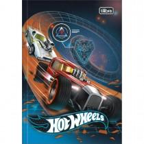 Imagem - Caderno Brochura Capa Dura 1/4 Hot Wheels 80 Folhas (Pacote com 5 unidades) - Sortido