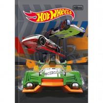 Imagem - Caderno Brochura Capa Dura 1/4 Hot Wheels 96 Folhas (Pacote com 5 unidades) - Sortido