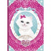 Imagem - Caderno Brochura Capa Dura 1/4 Jolie Pet 96 Folhas - Sortido (Pacote com 10 uni...