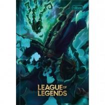 Imagem - Caderno Brochura Capa Dura 1/4 League of Legends 80 Folhas (Pacote com 5 unidades) - Sortido