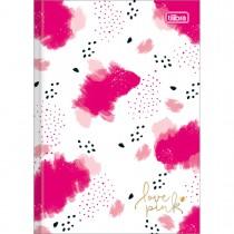 Imagem - Caderno Brochura Capa Dura 1/4 Love Pink 80 Folhas (Pacote com 5 unidades) - Sortido