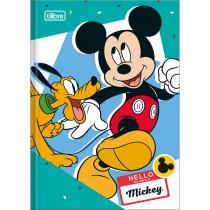 Imagem - Caderno Brochura Capa Dura 1/4 Mickey 48 Folhas - Sortido (Pacote com 5 unidades)