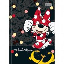 Imagem - Caderno Brochura Capa Dura 1/4 Minnie 48 Folhas (Pacote com 5 unidades) - Sortido