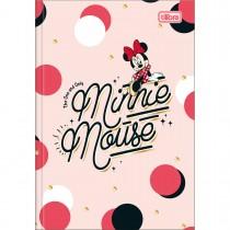 Imagem - Caderno Brochura Capa Dura 1/4 Minnie 80 Folhas (Pacote com 5 unidades) - Sortido