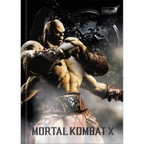 Imagem - Caderno Brochura Capa Dura 1/4 Mortal Kombat 80 Folhas (Pacote com 5 unidades) - Sortido