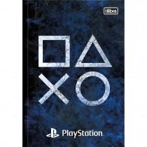 Imagem - Caderno Brochura Capa Dura 1/4 PlayStation 80 Folhas (Pacote com 5 unidades) - Sortido