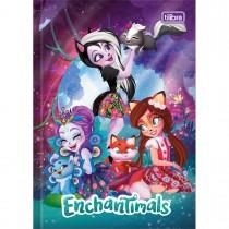 Imagem - Caderno Brochura Capa Dura 1/4 Polly Pocket e Enchantimals 80 Folhas - Sortido (Pacote com 4 unidades)...