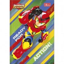 Imagem - Caderno Brochura Capa Dura 1/4 Power Players 80 Folhas (Pacote com 5 unidades) - Sortido