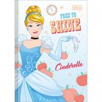 Imagem - Caderno Brochura Capa Dura 1/4 Princesas 80 Folhas (Pacote com 5 unidades) - Sortido