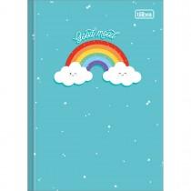 Imagem - Caderno Brochura Capa Dura 1/4 Rainbow 80 Folhas (Pacote com 5 unidades) - Sortido