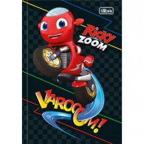 Imagem - Caderno Brochura Capa Dura 1/4 Ricky Zoom 80 Folhas (Pacote com 5 unidades) - Sortido