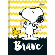 Imagem - Caderno Brochura Capa Dura 1/4 Snoopy 96 Folhas - Sortido (Pacote com 5 unidades)