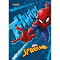 Imagem - Caderno Brochura Capa Dura 1/4 Spider-Man 48 Folhas - Sortido (Pacote com 5 unidades)
