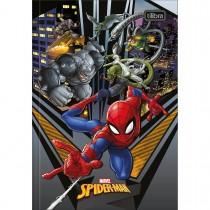 Imagem - Caderno Brochura Capa Dura 1/4 Spider-Man 80 Folhas - Spider-Man e Vilões - Sortido