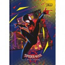 Imagem - Caderno Brochura Capa Dura 1/4 Spider-Man: Into the Spider-Verse 80 Folhas (Pacote com 5 unidades) - Sortido...