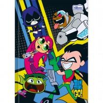 Imagem - Caderno Brochura Capa Dura 1/4 Teen Titans Go! 80 Folhas - Sortido (Pacote com ...