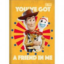 Imagem - Caderno Brochura Capa Dura 1/4 Toy Story 80 Folhas (Pacote com 5 unidades) - Sortido