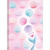 Caderno Brochura Capa Dura 1/4 Wonder 80 Folhas (Pacote com 5 unidades) - Sortido