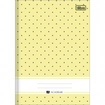 Imagem - Caderno Brochura Capa Dura 1/4 Académie Feminino 96 Folhas - Sortido (Pacote com 10 unidades)