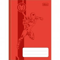 Imagem - Caderno Brochura Capa Dura 1/4 Avengers Colors 80 Folhas - Sortido (Pacote com 5 unidades)