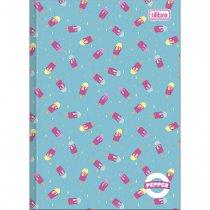 Imagem - Caderno Brochura Capa Dura 1/4 Pepper 80 Folhas - Sortido (Pacote com 5 unidades)
