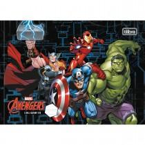 Imagem - Caderno Brochura Capa Dura Caligrafia Horizontal Avengers 40 Folhas - Sortido (Pacote com 5 unidades)...