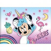 Imagem - Caderno Brochura Capa Dura Desenho Minnie 40 Folhas - Sortido (Pacote com 5 unidades)