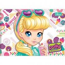 Imagem - Caderno Brochura Capa Dura Desenho Polly Pocket 40 Folhas - Sortido (Pacote com 15 unidades)
