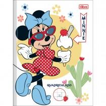 Imagem - Caderno Brochura Capa Dura Quadriculado 1x1cm Minnie 40 Folhas (Pacote com 5 unidades) - Sortido