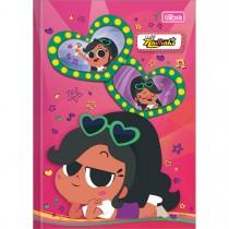 Imagem - Caderno Brochura Capa Dura Top 1/4 Clube da Anittinha 80 Folhas - Sortido (Pacote com 5 unidades)