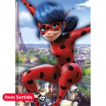 Imagem - Caderno Brochura Capa Dura Top 1/4 Miraculous: Ladybug 48 Folhas - Sortido (Pac...