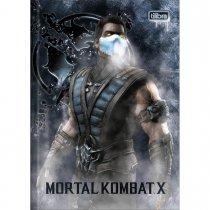 Imagem - Caderno Brochura Capa Dura Top 1/4 Mortal Kombat 80 Folhas - Sortido (Pacote com 5 unidades)