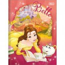 Imagem - Caderno Brochura Capa Dura Top 1/4 Princesas 96 Folhas - Sortido (Pacote com 5 ...