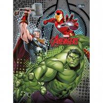 Imagem - Caderno Brochura Capa Dura Top Universitário Avengers 48 Folhas - Sortido (Pacote com 5 unidades)