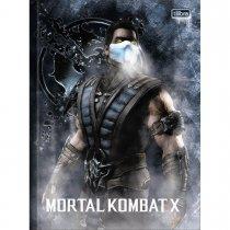 Imagem - Caderno Brochura Capa Dura Top Universitário Mortal Kombat 80 Folhas - Sortido (Pacote com 5 unidades)...