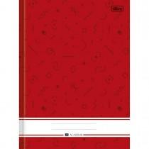 Imagem - Caderno Brochura Capa Dura Universitário Académie 80 Folhas - Sortido (Pacote com 5 unidades)