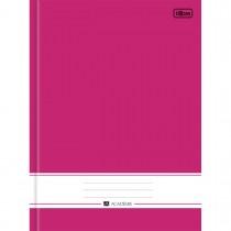 Caderno Brochura Capa Dura Universitário Académie Rosa 96 Folhas