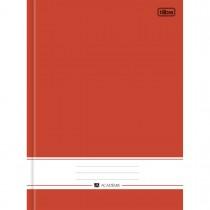 Imagem - Caderno Brochura Capa Dura Universitário Académie Vermelho 96 Folhas