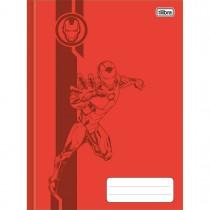 Imagem - Caderno Brochura Capa Dura Universitário Avengers Colors 80 Folhas (Pacote com 5 unidades) - Sortido
