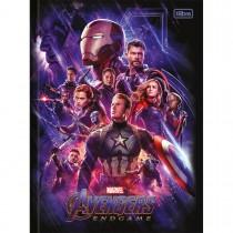 Imagem - Caderno Brochura Capa Dura Universitário Avengers Endgame 80 Folhas (Pacote com 5 unidades) - Sortido...