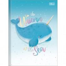 Imagem - Caderno Brochura Capa Dura Universitário Bubble 80 Folhas (Pacote com 5 unidades) - Sortido